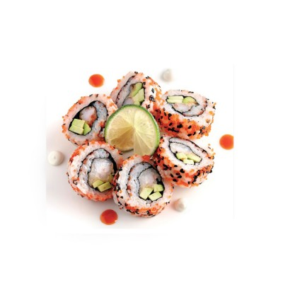 Booto Ebi Maki 6 pieces