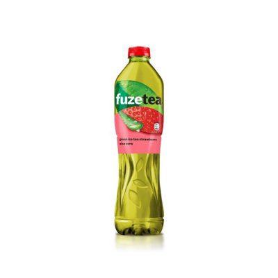 Fuze Green ice tea – Eper & Aloe Vera 1,5l